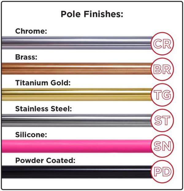 Pole Finishes - Guide