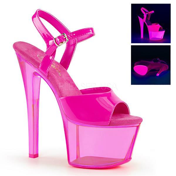 c0bf48aacfc40 Neon Pink. Deva Dance Shop - Pleaser Shoes - Exotic dance & Pole ...